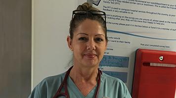 Helen Keeling, alumna, Advanced Nurse Practitioner