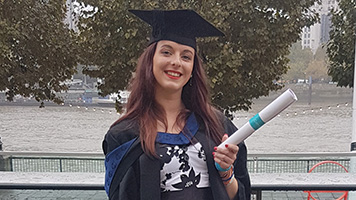 Ella-Louise Hayes, BA (Hons) Drama and Performance