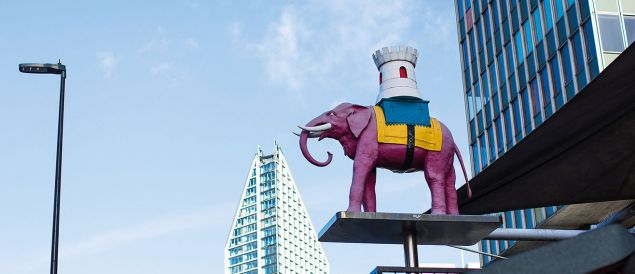 Lyn Hamblin talks about the Business School's role in the Elephant and Castle regeneration