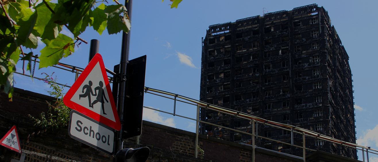 Dr Claire Benson, fire specialist, interviewed by the BBC on Grenfell cladding