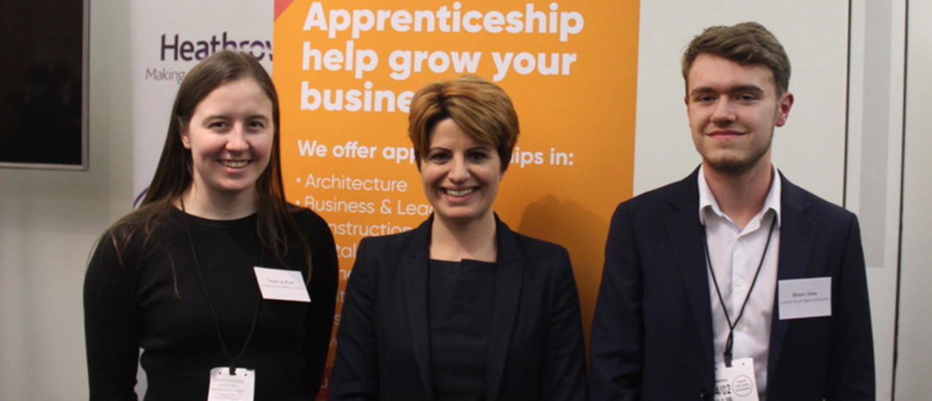 LSBU launches diversity in apprenticeship drive for National Apprenticeship Week 2020