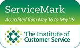 Institute of Customer Service ServiceMark logo