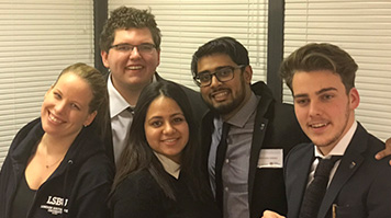 Bronze in Network of International Business Schools Business Case Competition