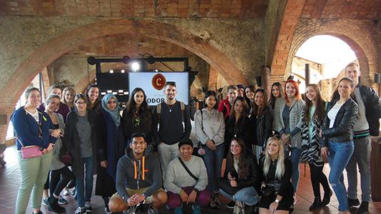 Tourism students visit Cordoniu