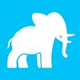 elephant' app logo