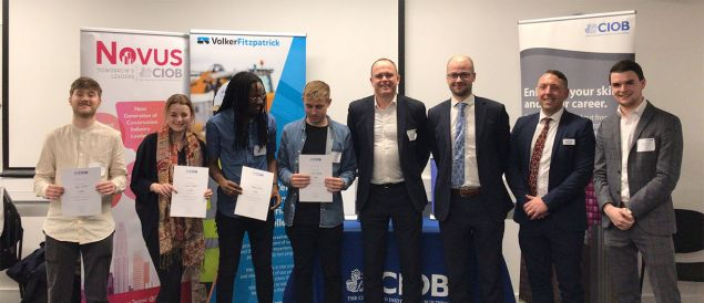 LSBU Architectural Technology students make CIOB Bright Futures final for second year running