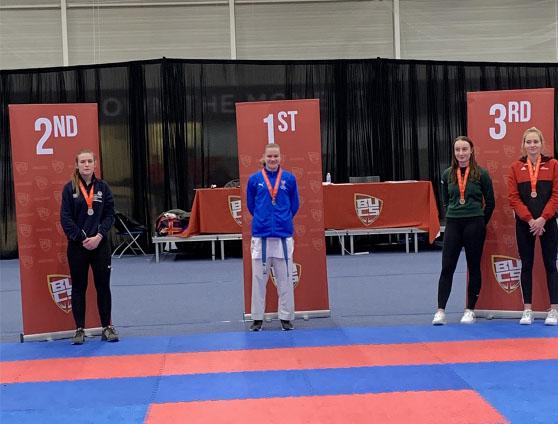 Anja wins gold