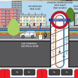 infographic of London