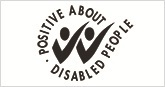 Positive about Disability logo
