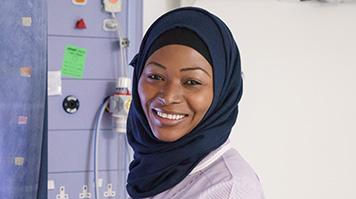 Maria Yunusa, alumna, BSc Midwifery graduate