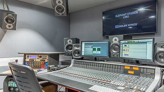 Inside the Sound Studio