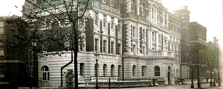 Borough Road building in 1982