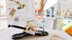 Shoe at a design show