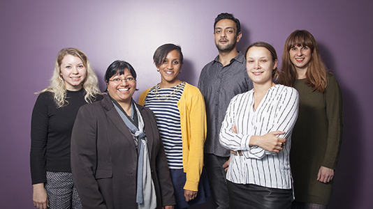 A group of LSBU professional and academic staff members