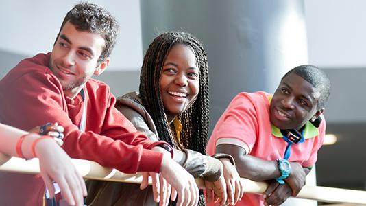 London South Bank University students