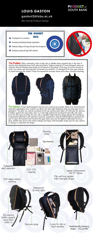 Commuting & Backpacks by Louis Gaston