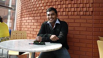 Mahesh Dissanayake, BEng Electrical and Electronic Engineering, international student