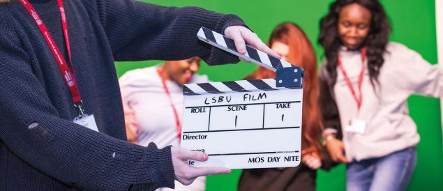 LSBU awarded £6.1 million to develop Film, TV and Creative Industries in London and S.E.