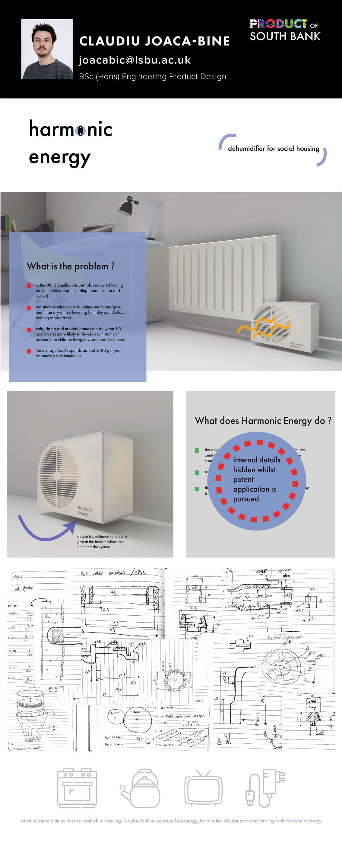 De-humidifiers by Claudiu Joaca-Bine